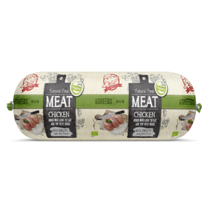 Natural Fresh Meat Biologisch Honden Worst Kip 600 gr