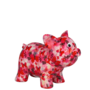 Babette-Roze-Rood-met-vlinders
